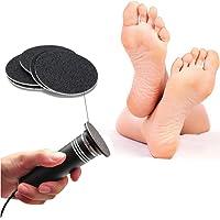 CWPET Archivo de pie electrónico actualizado (Velocidad Ajustable) con Discos de Papel de Lija reemplazables, Eliminar Callos Removedor de callo de pie de Piel Seca Muerta Agrietada