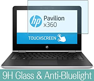 "Synvy Anti Blue Light Tempered Glass Screen Protector for HP Pavilion x360 15-br100 / br158cl / br160cl / br124tx / br101ne / br101ng / br159cl / br102ng 15.6"" Visible Area Film Protectors"