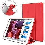 D.Vordingborg 苹果iPad Mini4保护套 iPad Mini 4平板电脑保护壳 软 硅胶 防摔 带休眠唤醒功能 三折立式支架设计 易于清洁 适用于苹果Apple iPad Mini 4 (红色)