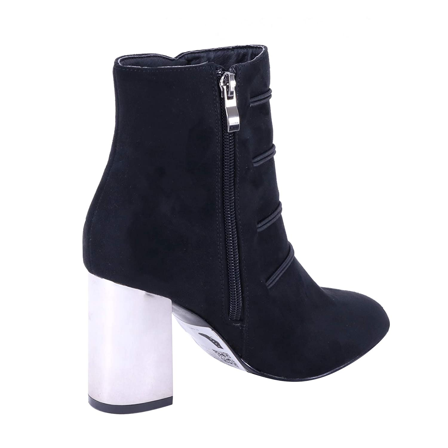 Brieten Womens Chunky Heel Ankle Boots