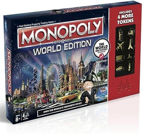 Monopoly ici et maintenant au monde – Special Edition: Amazon.es: Juguetes y juegos