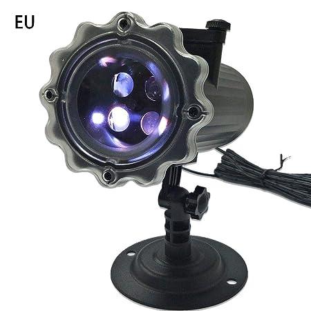 Forwei - Lámpara LED para proyector, antorcha de música ...