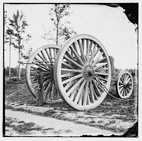 photo-drewrys-bluffvirginiavaamerican-civil-warsling-cartsoldierapril-1865