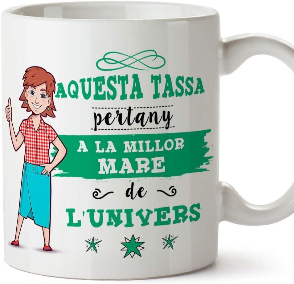 MUGFFINS Taza Mamá (En Catalán) -