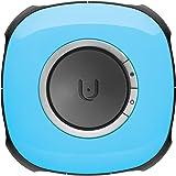 Vuze VR Camera 3D 360° 4K ウェアラブルカメラ 高画質 防滴 防塵 (ブルー)