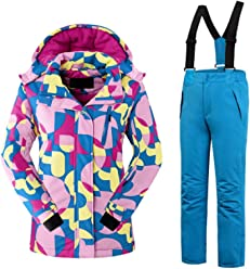 28f99a0525af Amazon.com  Tortor 1bacha  Kids  Ski Suit