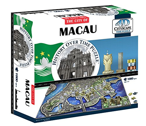 4D Cityscape 4D Macau China Puzzle from 4D Cityscape