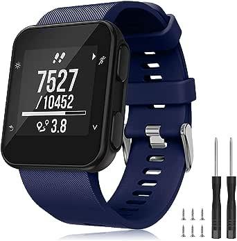 TOPsic Armband voor Garmin Forerunner 35 armband, horlogeband reservearmband silicone accessoires armbanden voor Forerunner 35 GPS vervangende armband