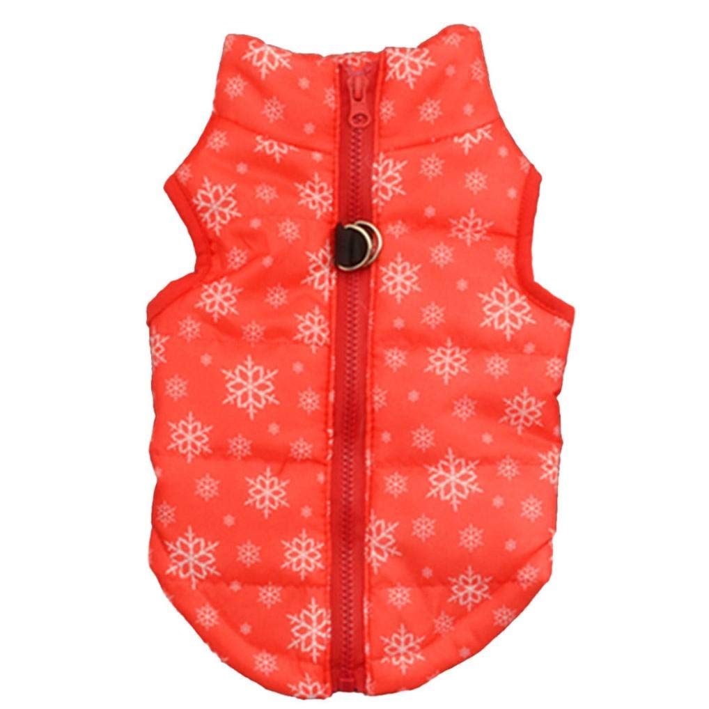 Fitfulvan Clearance! Hot Fashion Pet Camouflage Cloth Dog Cloth Dog Winter Cloth Pet Vest New