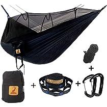 Hamac Moustiquaire De Voyage Camping 2 Personnes Hamac 300kg Léger