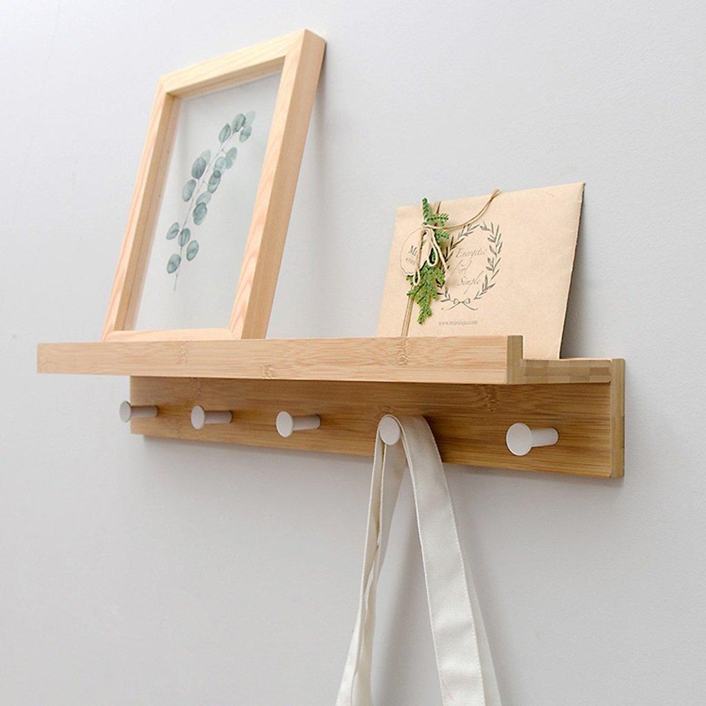 Creative Multifunctional Clothes Hat Hanger Living Room Bedroom Decoration Hanging Hook Rack ( Size : 5 hook )