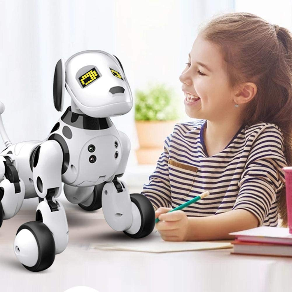 Robot Dog Wireless Remote Control Intelligent Children's Smart Toys Talking Dog Robot Electronic Pet Toy Birthday Gift by Zaote (Image #5)