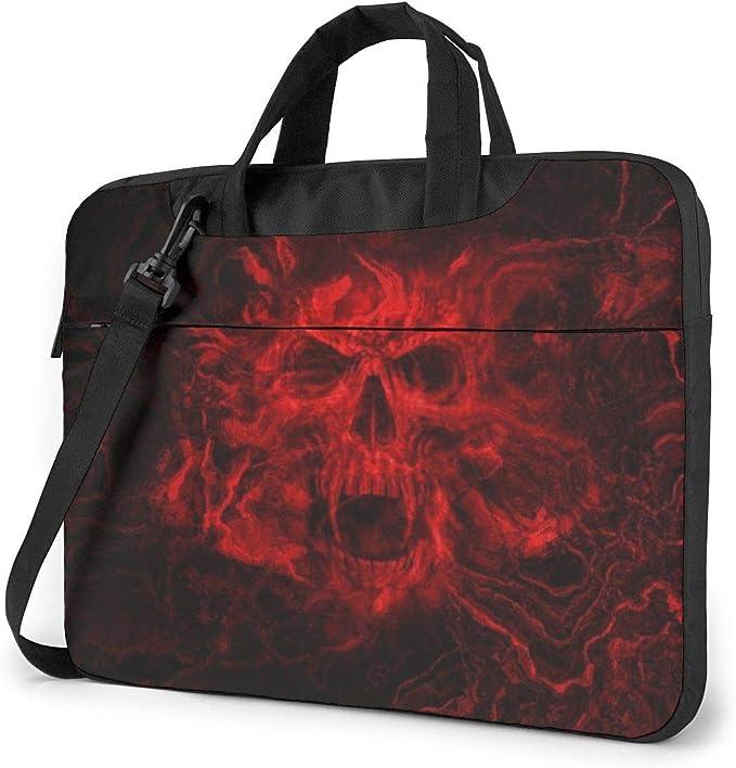 Yuotry Neoprene Laptop Sleeve Case Cream Fish Portable Laptop Bag Business Laptop Shoulder Messenger Bag Protective Bag 15.6 Inch