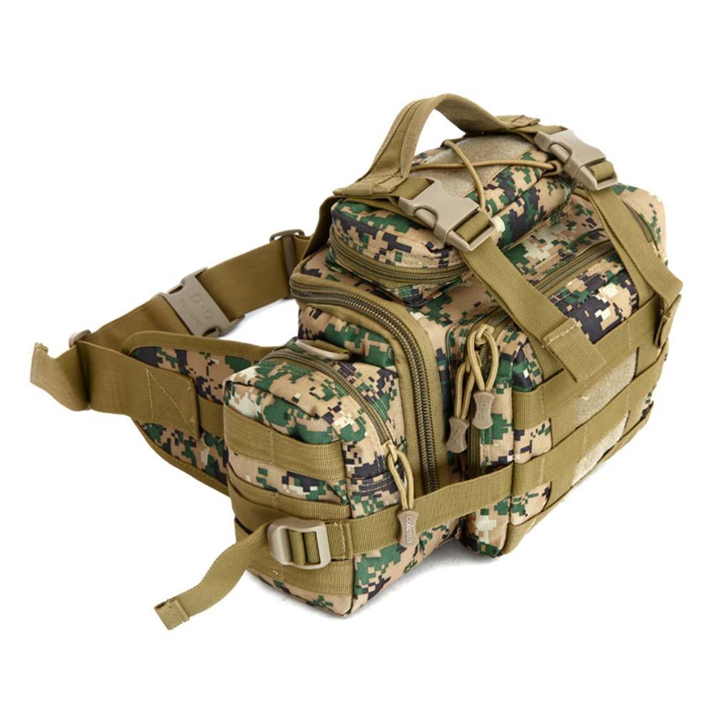 ZHANGRONG- Multifunktionale Außentaschen Camouflage Sporttasche Freizeit auf einer Bergsteigen-Tasche Ausstattungspaket (Mehrfache Farben vorhanden)