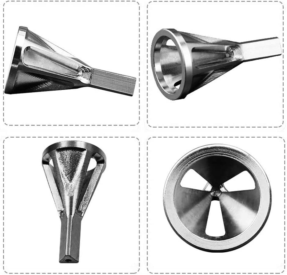 .164 Muye HSS Deburring External Chamfer Tool for Size 8-32 Bolts Deburring Tool,Silver Triangle Shank Deburring Drill Bit Up To 3//4/″ Stainless Steel Remove Burr .750
