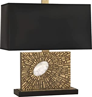 product image for Robert Abbey 416B Goliath - One Light Table Lamp, Shade Options: Black Opaque Parchment/Matte Gold
