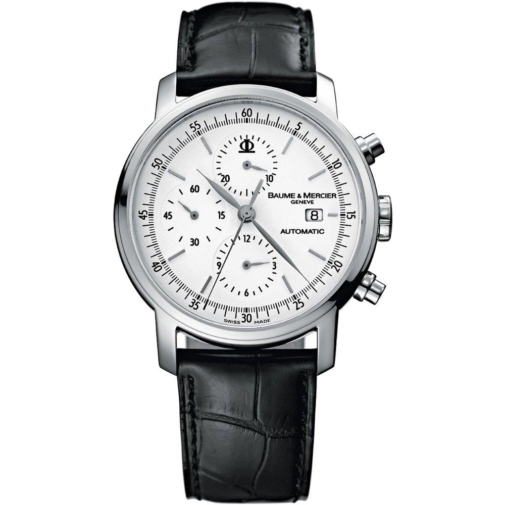 0b59ae57cf1 Baume   Mercier Men s 8591 Classima Chronograph Watch  Amazon.co.uk  Watches
