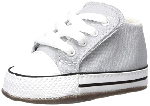 low priced 1aec4 cfe5b Converse Babyschuhe CTAS CRIBSTER MID 865159C Wolf Grey ...