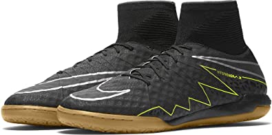 sports shoes 638bc c9cb3 ... indoor soccer shoes brown black outlet store ee2e9 b36a8  promo code  for nike hypervenomx proximo ic football sneakers man black black black  volt e90eb ...
