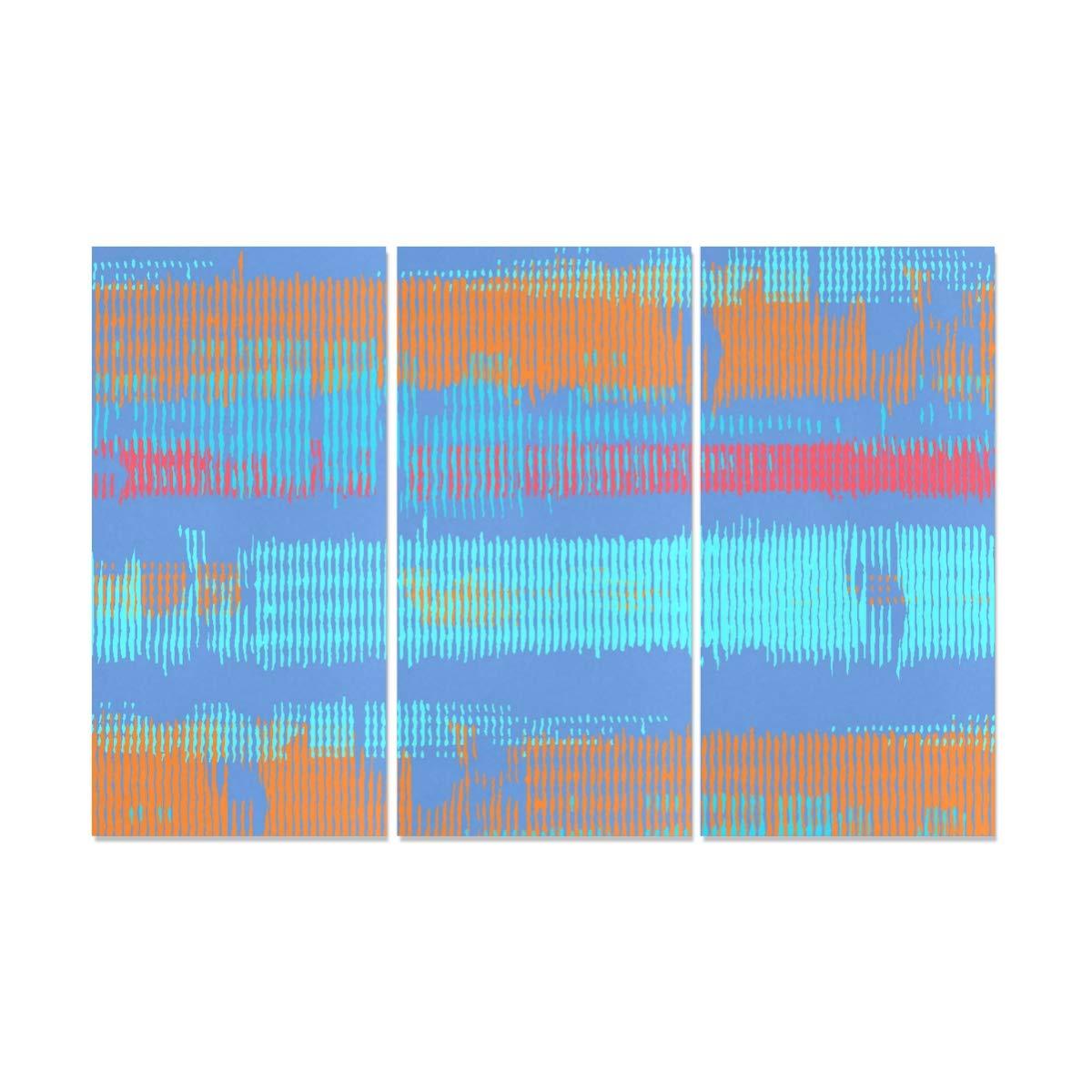 Amazon Com Jnseff 3 Panel Fabric Art Wall Decor Color