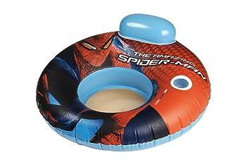 Giochi Preziosi - Sillón flotador hinchable (104 x 104 cm), diseño de Spiderman: Amazon.es: Juguetes y juegos