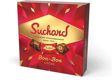 Suchard - Bon-bon Leche - Bombones Chocolate con Leche - 158 Gr
