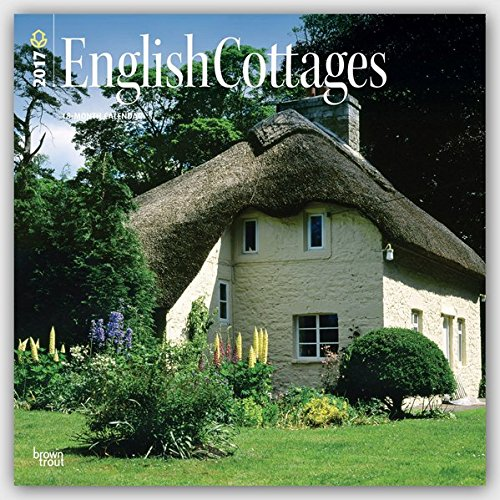 English Cottages 2017 Square (Multilingual Edition)