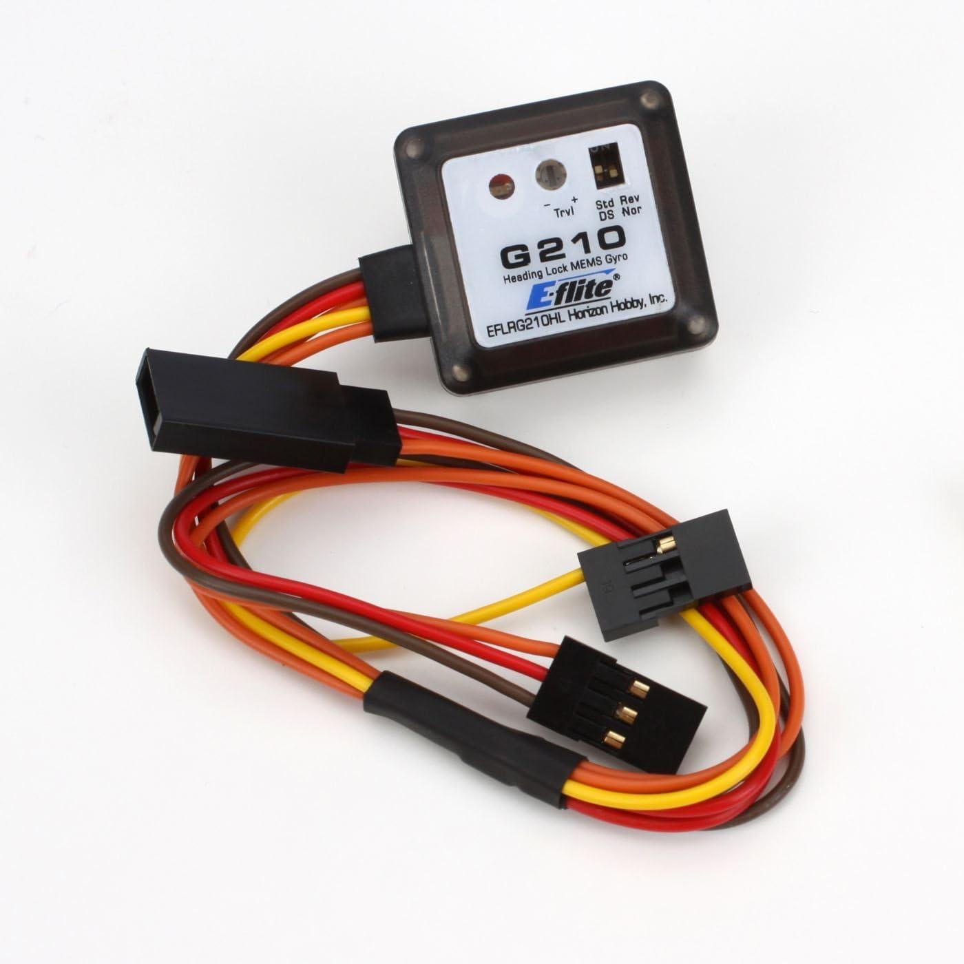 B004P7QGFM E-flite G210HL Micro Heading Lock MEMS Gyro, EFLRG210HL 61Kiz0Sw47L