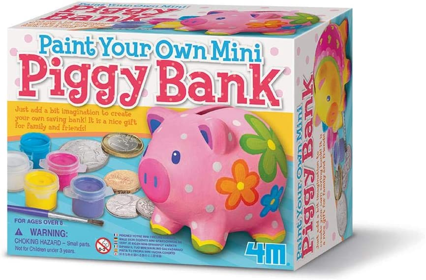 Paint Your Own Piggy Bank | Stay At Home Mum