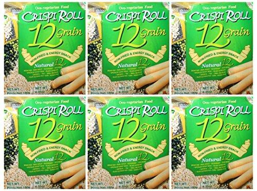 Crispi Roll 12 Grain Biscuit 6 Packs