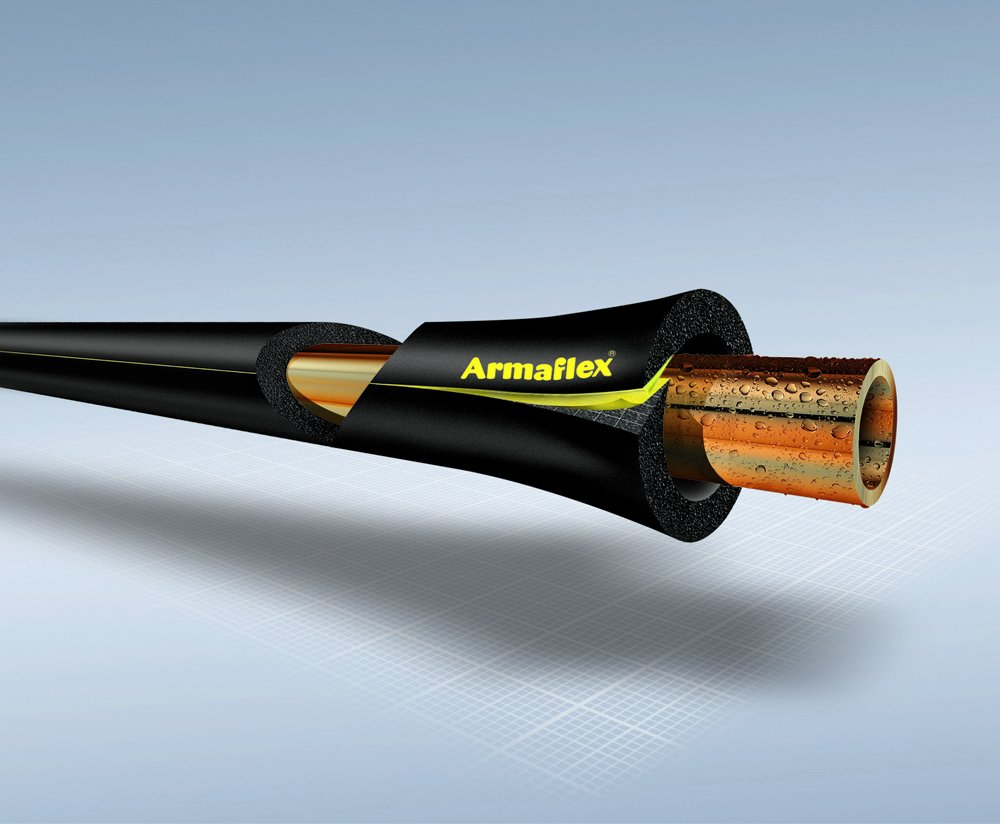 de cat/égorie O Isolation de tuyaux 09x28 pour tube diam/ètre 28mm 9mm mur Armaflex Self-Seal longueur 2 m/ètres