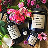 Organic 100% Natural Body Bath Spa Collection -Mother's Day Gift Set- Body Oil, Body Butter, Lip Balm, Scrub - Treat & Feed Your Skin With All Food Grade Ingredients