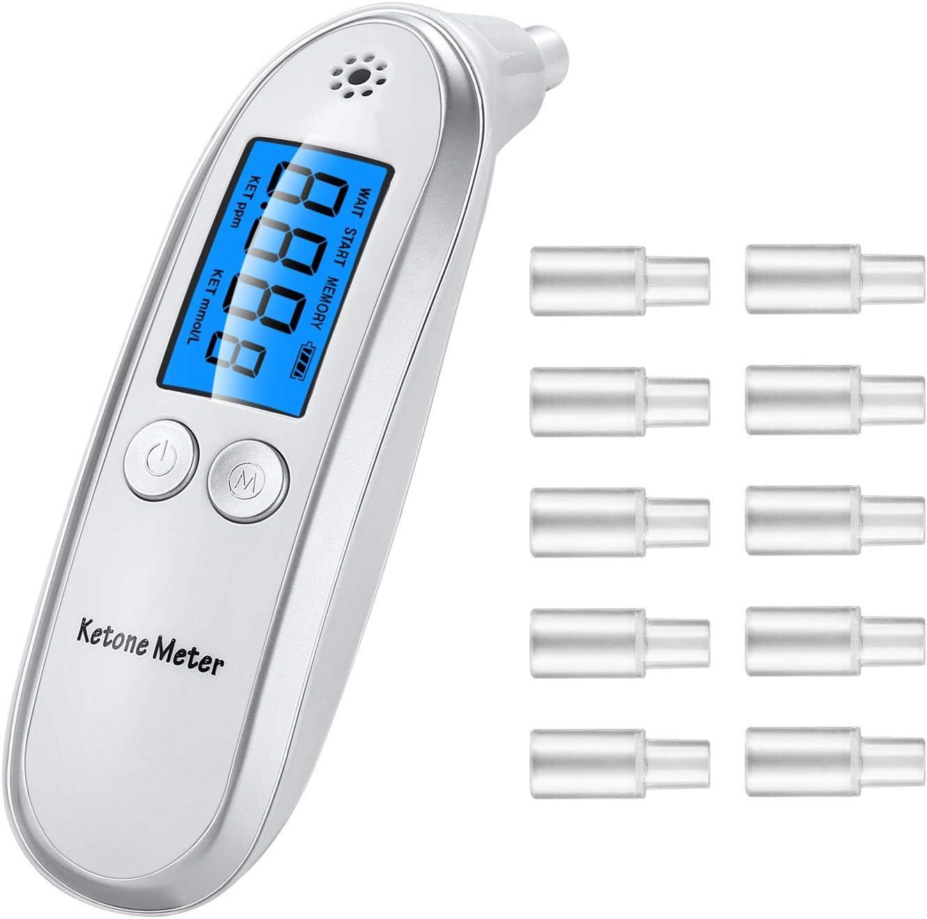 Ketone Meter, Ketone Breath Analyzer with Digital Readings for Dietitian Testing