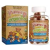 yummi bears organics - Yummi Bears Organics Gummy Vitamins, Multi-Vitamin for Kids 90 Gummy Bears