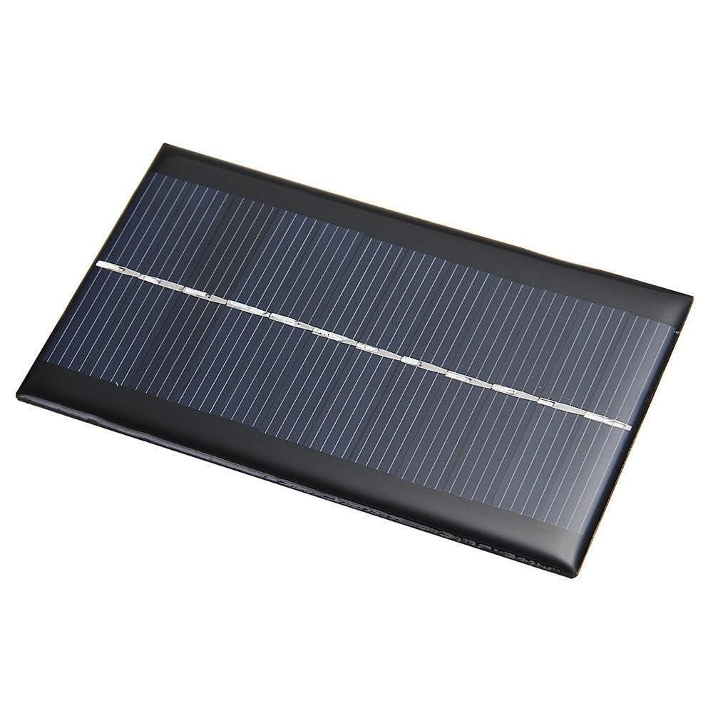 Exiron 5 pcs 6V 1W Solar Panel Module DIY For Light Battery Cell Phone Toys Chargers