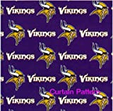NFL Minnesota Vikings Shower Curtain by Northwest
