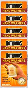 HotHands Hand Warmers, 10 count(5 pack with 2 warmers per pack)