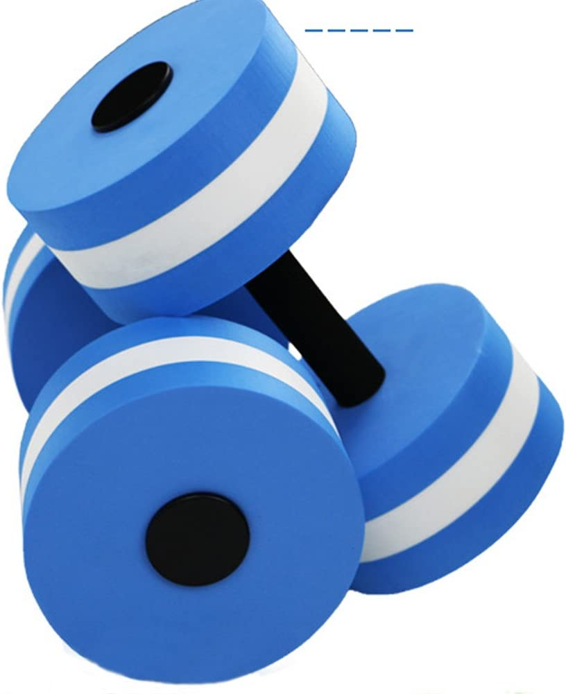 FUVOYA Agua aeróbica Ejercicio Espuma Pesas Piscina Resistencia 1 par, Ejercicios de Gimnasia de Agua Equipo pérdida de Peso