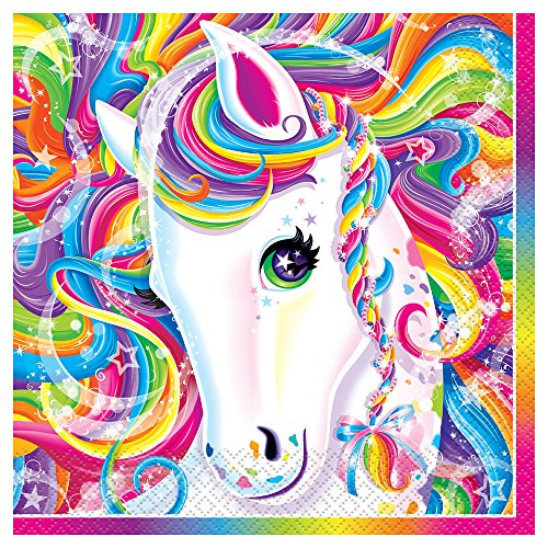 Rainbow Majesty by Lisa Frank Party Napkins,