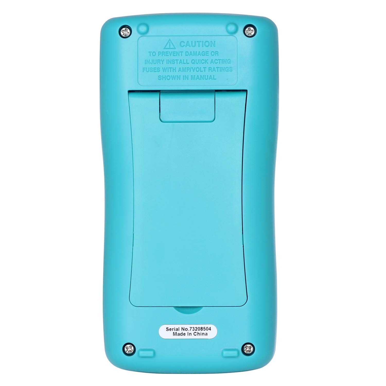 BSIDE ZT98 Digital Multimeter Auto Range TRMS DMM AC//DC Ammeter Voltage Resistance Diode Meter Tester with Backlight