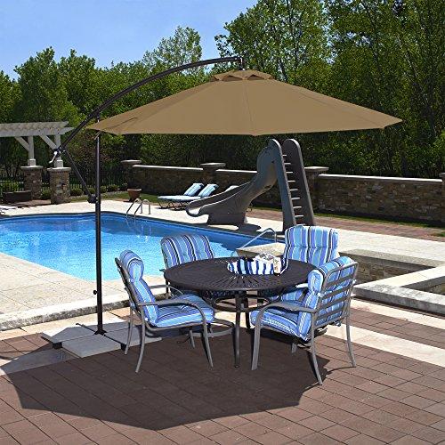 Island Umbrella NU6400SS Octagonal Cantilever