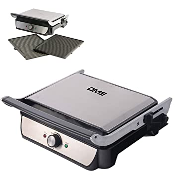 DMS® kg04 Grill XXL eléctrico - Parrilla para mesa ...
