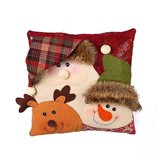 FLYWS Navidad Cojines cojín Almohada Almohadas Navidad ...