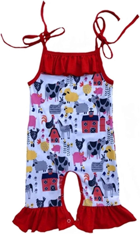 Headband 2PCS Giles Abbot Newborn Baby Girl Romper Clothes Summer Sleeveless Watermelon Backless Jumpsuit