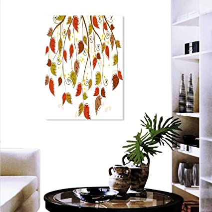 Amazon Com Anyangeight Autumn Canvas Wall Art Bedroom Home