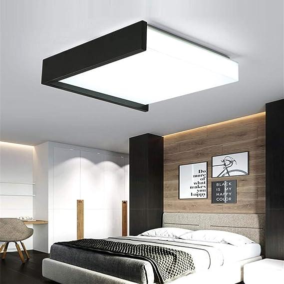 Amazon.com: ZM3 Lámpara de techo Nórdica Maestro Dormitorio ...