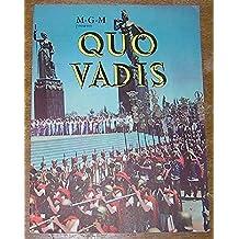 MGM Presents Quo Vadis ( film souvenir Book )