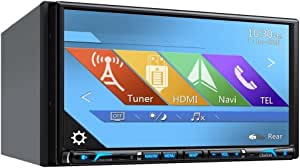 "Clarion NX706 2-DIN DVD Multimedia Station with Built-in Navigation, 7"" Touch Panel Control"