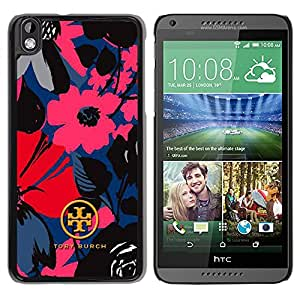 Popular HTC Desire 816 Case ,Beautiful And Unique Designed With Tory Burch 09 Black HTC Desire 816 Cover