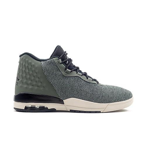 Zapatillas Jordan - Academy gris/negro/blanco talla: 44,5: Amazon.es: Zapatos y complementos